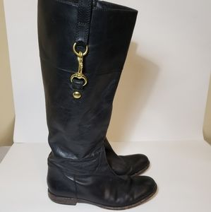 Coach Martee Knee HIGH equestrian riding Boots